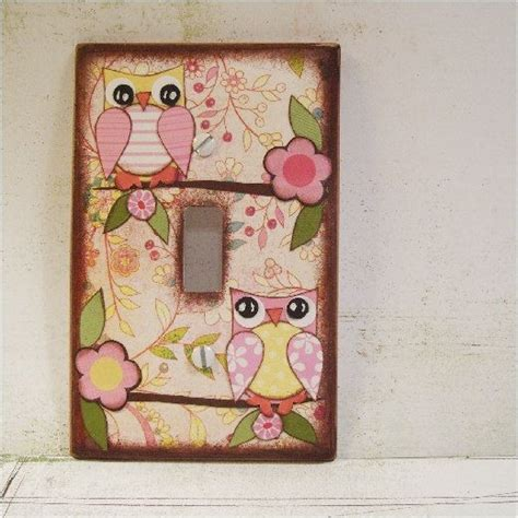 Decoupage Switch Plates - 82 best images about decoupage ideas on