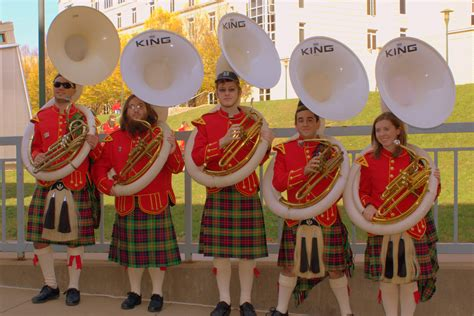 cmu kiltie band a tradition since 1908