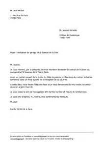 modele lettre resiliation de bail