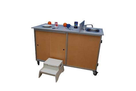 food cart with sink fpc 001 food preparation cart with portable self