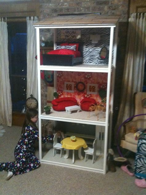 diy american girl doll house diy american girl dollhouse american girl crafts pinterest