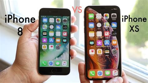 Iphone 8 Plus Vs Xs by Iphone Xs Vs Iphone 8 Should You Upgrade Review