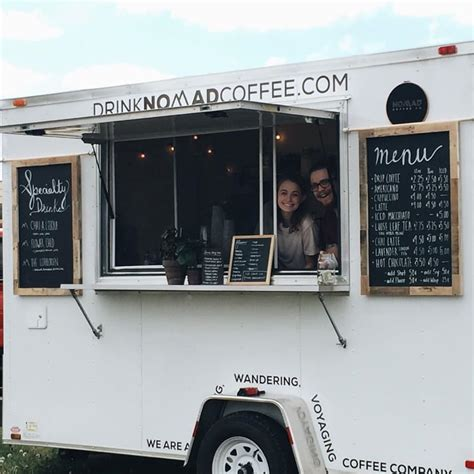Nomad Coffee nomad coffee co lynchburg va food trucks roaming hunger