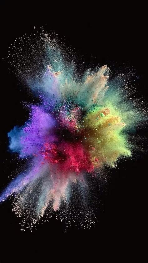 colorful powder wallpaper color outbreak iphone 5s wallpaper iphone 5 s