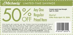 Quality shopping with michaels coupon