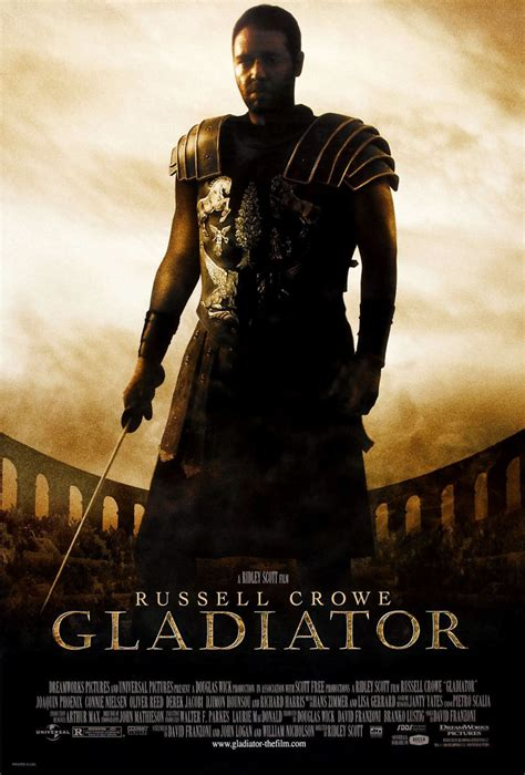 gladiator film rating gladiator dvd release date