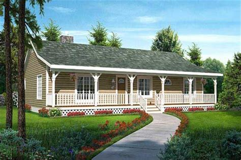Luxury Country Ranch House Plan HOUSE DESIGN AND OFFICE : Benefit of Country Ranch House Plan