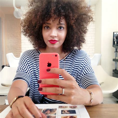 balayage sur cheveux afro mercredie