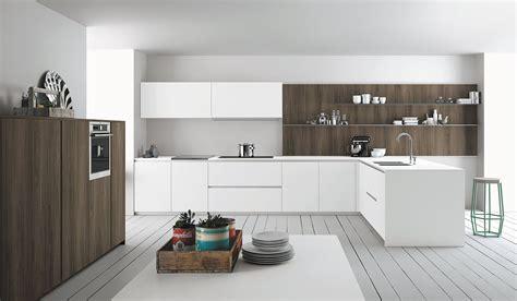 mensole bianche lucide cucine bianche moderne cose di casa