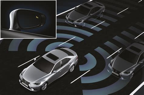 Blind Spot Monitor System lexus car safety monitoring systems lexus