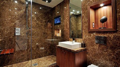 ambiente rustico arredamento bagno rustico con ispirazione moderna