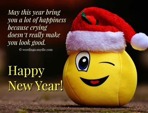 funny  year messages wordings  messages