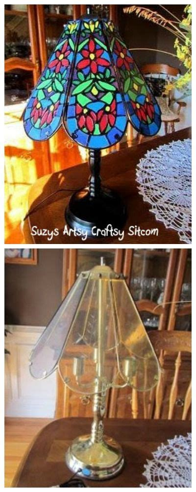 faux tiffany l shades 17 best images about repurposed recycled or upcycled junk