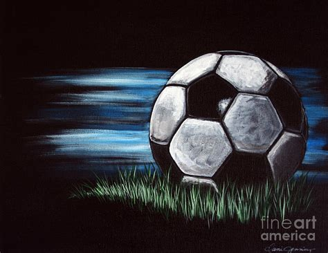 soccer painting soccer painting by abbott