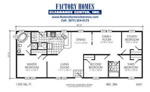 Mobile Home Floor Plans And Prices by Double Wide Mobile Home Floorplans 171 Mobile Homes