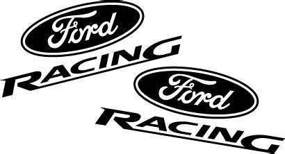 Aufkleber Set Racing Ford by Ford Racing Decal Set Flat Black Lmr