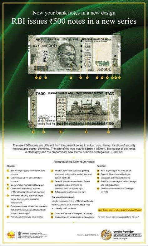 3 ways to identify new rs 500 and war on black money how to identify the the new rs 500 note