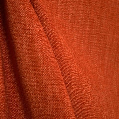 Orange Drapery Fabric austen sedona solid burnt orange poly chenille fabric traditional upholstery fabric by the