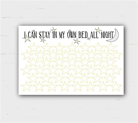 printable reward charts for sleeping sleep reward chart bed time i can stay in my own bed gold