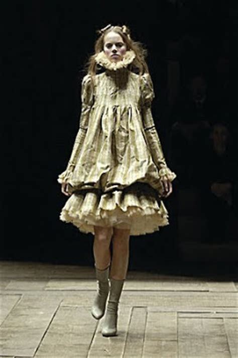 Tannia Dress Salem V the fashion archive the mcqueen archive