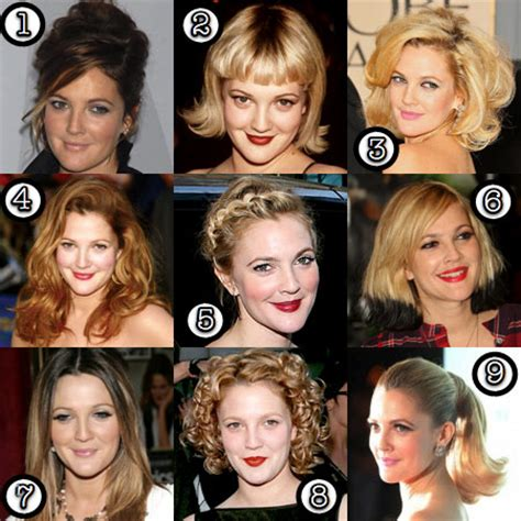 Drew Barrymore: Her Best Hair?   Makeup and Beauty Blog