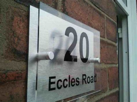 Door Plaques by Barbers Hairdressers Shop Front Freestyle Design