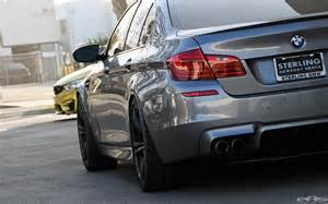 space gray bmw f10 m5 gets modified at european auto source