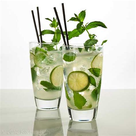 mojito cocktail kitchen riffs mojito cocktail