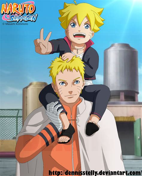 film naruto bolt naruto and bolt father and son by dennisstelly on deviantart