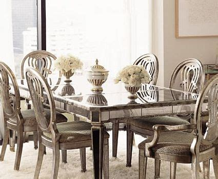 Mirrored Dining Room Furniture Eye For Design Decorating With Mirrored Furniture