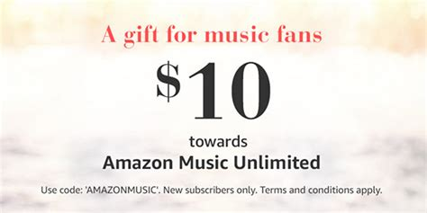 Amazon Music Gift Card - tech deals playstation plus and xbox live gold subscriptions digital download codes
