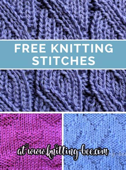knit stitch library knitting stitch library 215 free knitting patterns