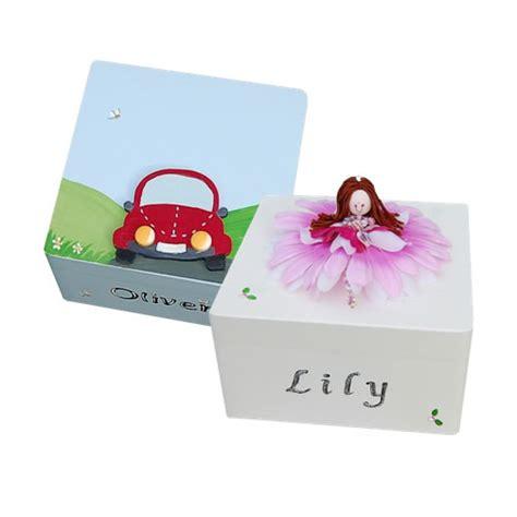 toril design hand painted personalised baby keepsake box