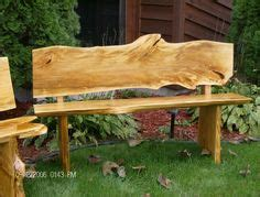 wood slab bench with back 1000 images about wood slab ideas on wood