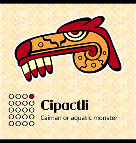 Aztec Calendar Symbols Tonalpohualli Aztec Calendar Symbols On Behance