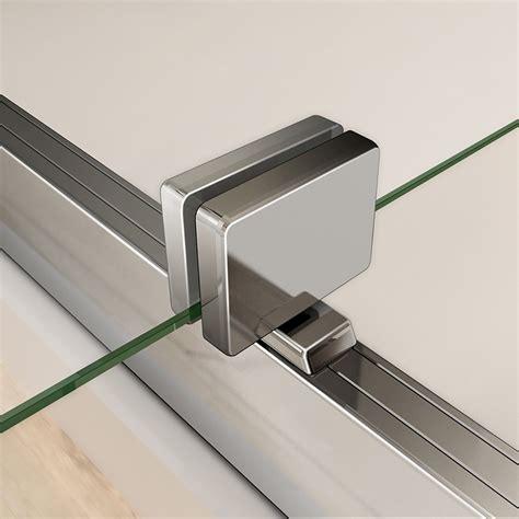 Pivot Shower Door Hardware Frameless Shower Enclosure Pivot Door Hinges Cubicle 6mm Glass Screen Bathroom Ebay