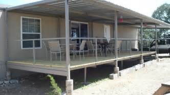 patio railing cover ranch trailer patio cover deck railing before after pictures