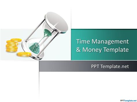money powerpoint template free time money ppt template