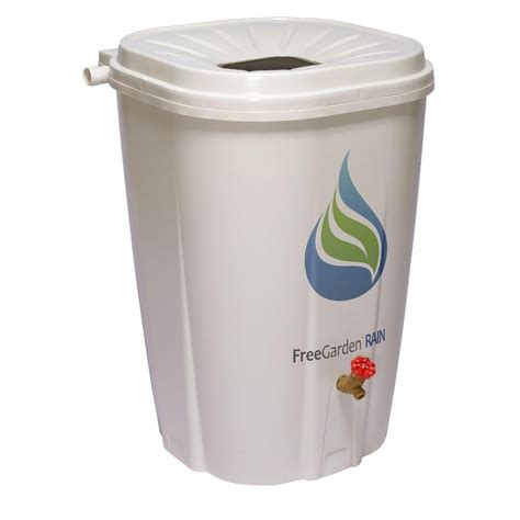freegarden 55 gal barrel with brass spigot ewc