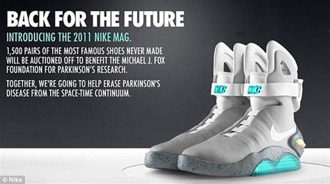 Sepatu Nike Air Mag nike to sell marty mcfly s power laces from back to the