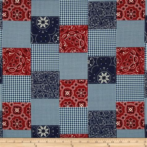 Cheap Patchwork Fabric - michael miller bandana patchwork discount designer
