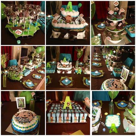 brown and green baby shower decorations 374 best images about baby shower ideas on