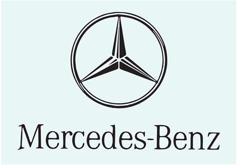 logo mercedes benz vector mercedes benz download free vector art stock graphics