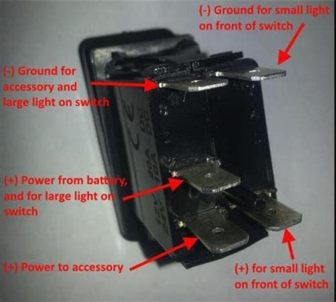narva 5 pin rocker switch wiring diagram somurich