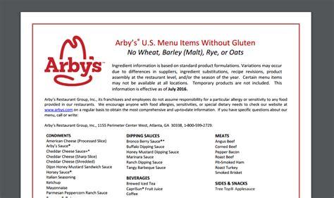 Arby S Nutrition Menu – Besto Blog Arby S Nutritional Information