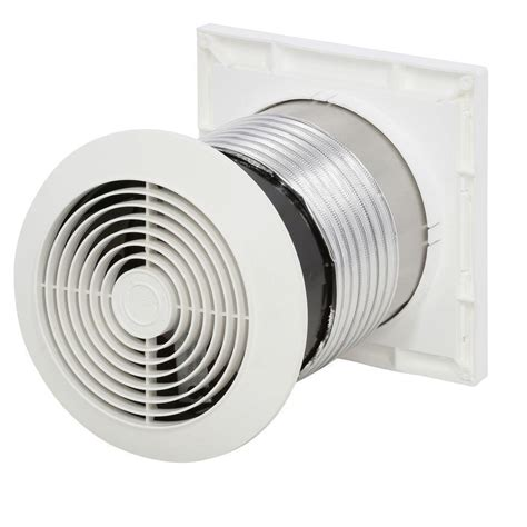 bathroom exhaust fan on wall 70 cfm through wall mount exhaust fan quiet ventilator