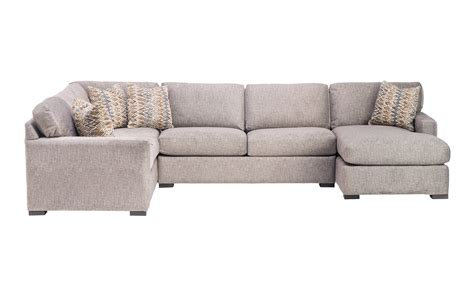 gregory sectional gregory three piece sectional schneiderman s furniture