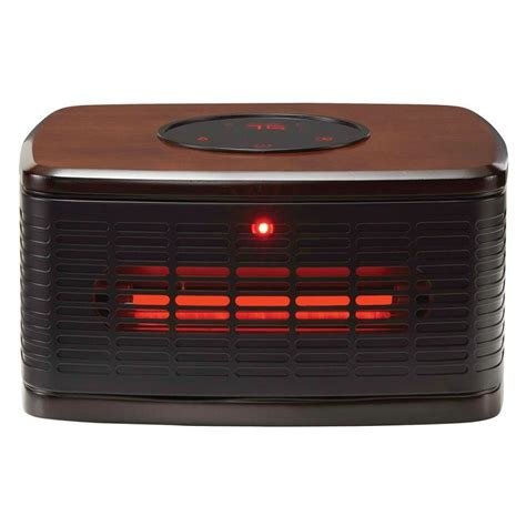 electrical cabinet heater with thermostat shop living 1500 watt infrared quartz cabinet