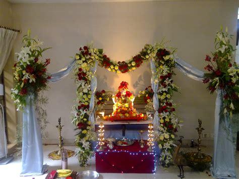 Fresh Artificial Flowers Decoration Ganpati Decoration Pinterest | fresh artificial flowers decoration ganpati decoration