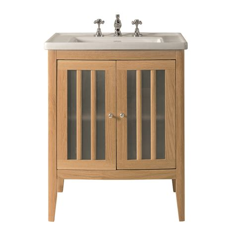 Bathroom Vanity With Glass Door Radcliffe Linea Vanity Unit With Frosted Glass Doors And